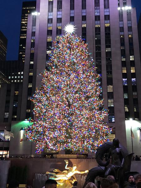 Our Holly Jolly New York Holiday.  THE SEASON OF JOY  !!!