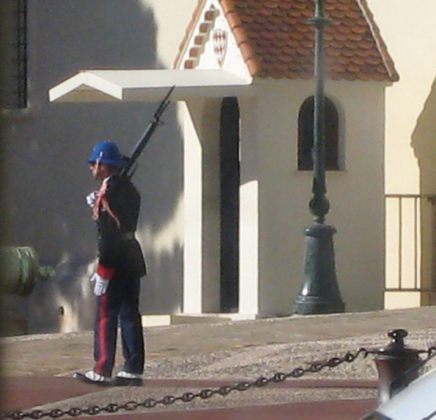 Monte Carlo - Palace Guard