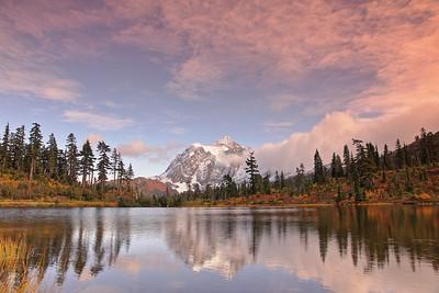 Mt. Shuksan & Mt. Baker
