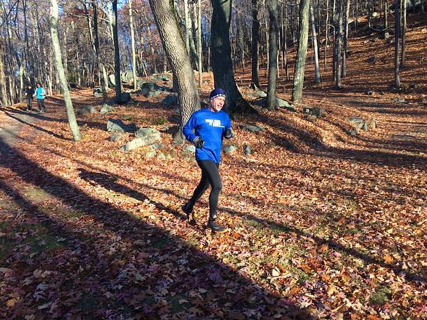 November 8, 2015 - Mountain Lakes Perimeter Run
