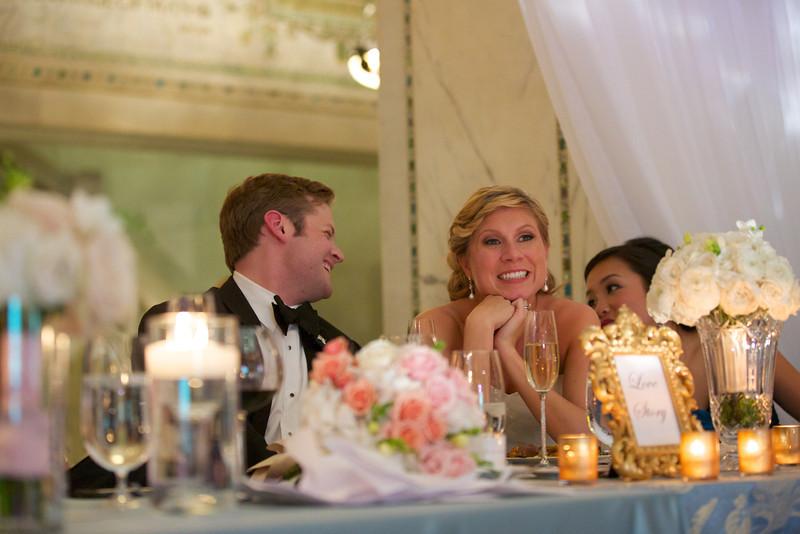 Le Cape Weddings - Chicago Cultural Center Weddings - Kaylin and John - 030 Speeches 6