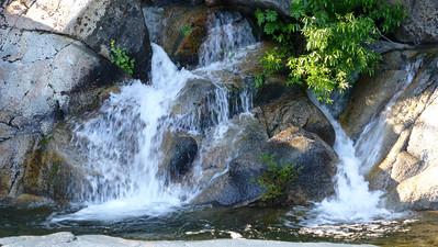 2012/06/24 >> Tuolumne Grove of Giant Sequoias and water falls under a bridge
