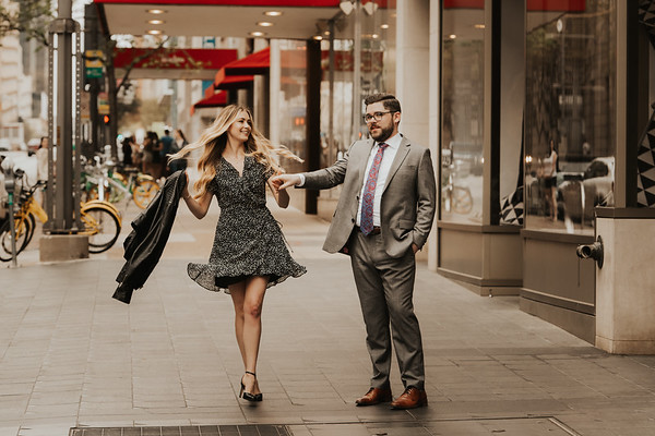 Rachel and Greg's Dallas Engagement Session