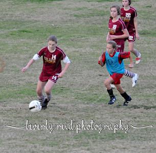 2010 111810 Grace vrs. St Jude (MS Soccer Girls)