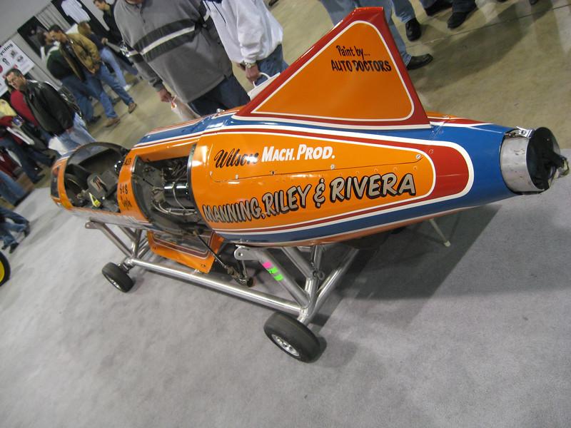 Cal Rayborn's land-speed bike