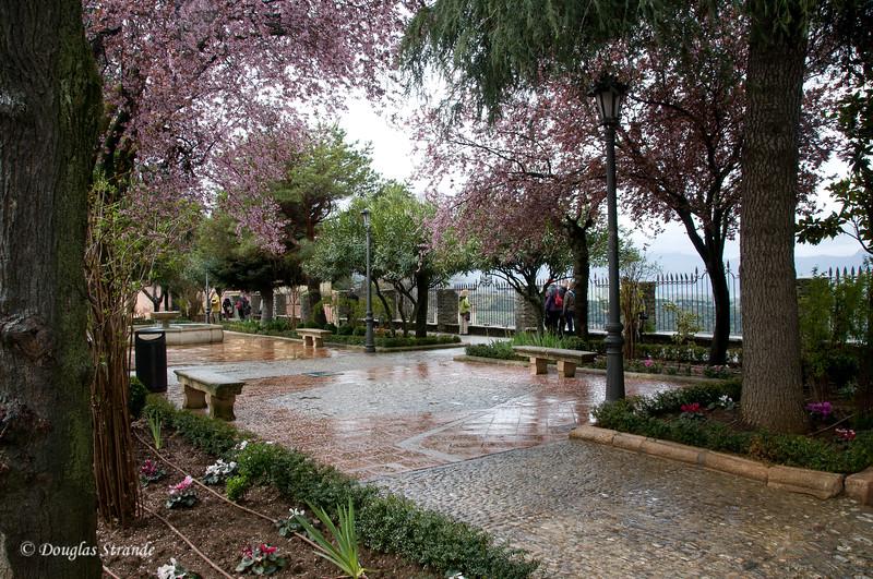 Mon 3/14 in Ronda: Park and nice vista