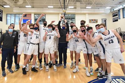 Morgan Boys' Basketball Captures Shoreline Conference Crown