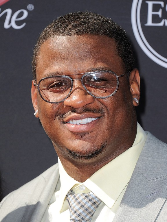 . NFL football player Rob Jackson arrives at the ESPY Awards on Wednesday, July 17, 2013, at Nokia Theater in Los Angeles. (Photo by Jordan Strauss/Invision/AP)