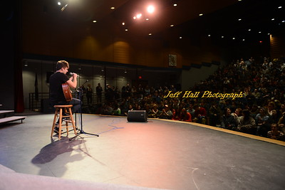 Alex Preston visits SHS