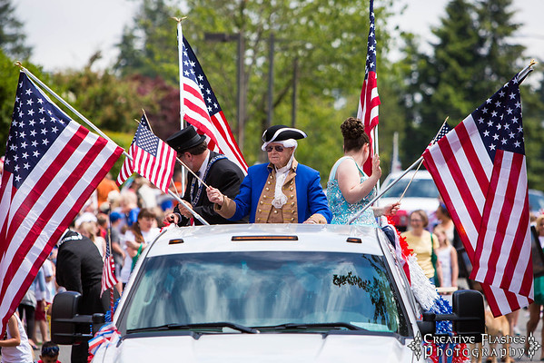 Bothell Fourth of July Parade 2013