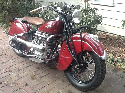 My 1940 Indian Four
