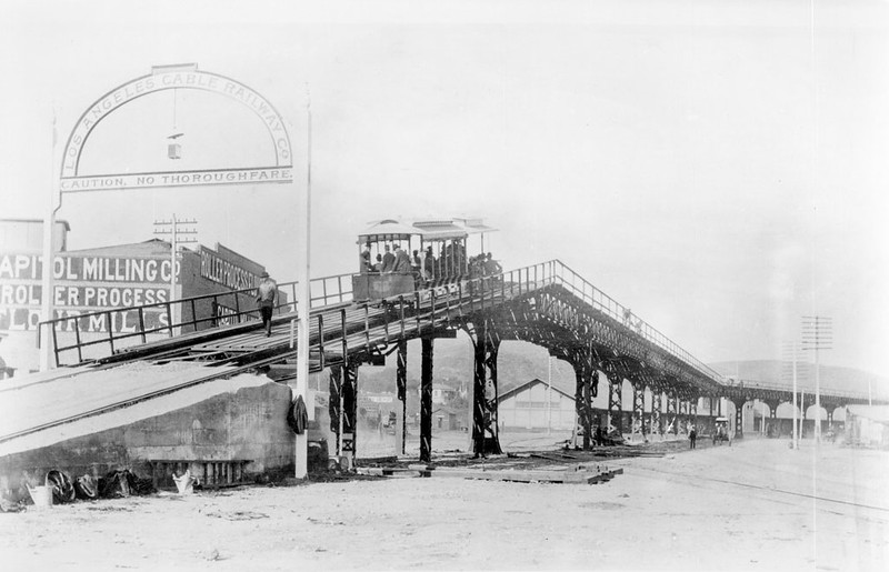 1889,  L.A. Cable Railway