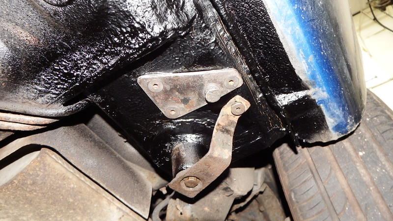 LH N/S Rear jacking point/ sill seam repaired