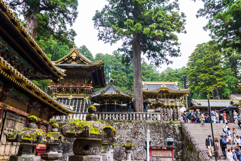 Tosho-gu Shrine at Nikko. Editorial credit: Iceink / Shutterstock.com