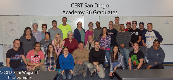 April 2018 CERT Academy 36