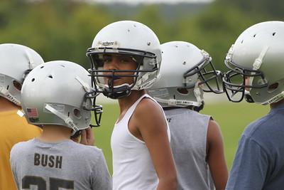 2011_08_04 Football Practice & BB Camp