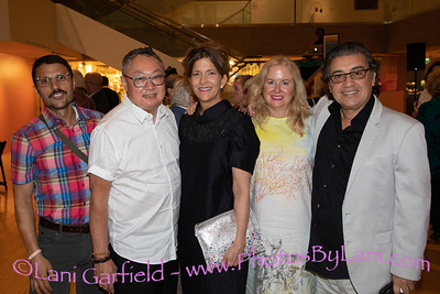 Palm Springs Art Museum Unsettled Exhibit Opening 11/2/18  by Lani