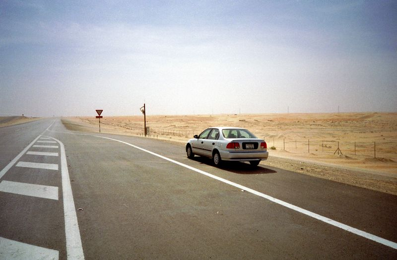Oil Road  Habshan - Bu Hasa