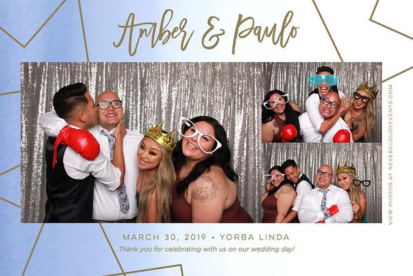 Amber & Paulo Wedding Prints