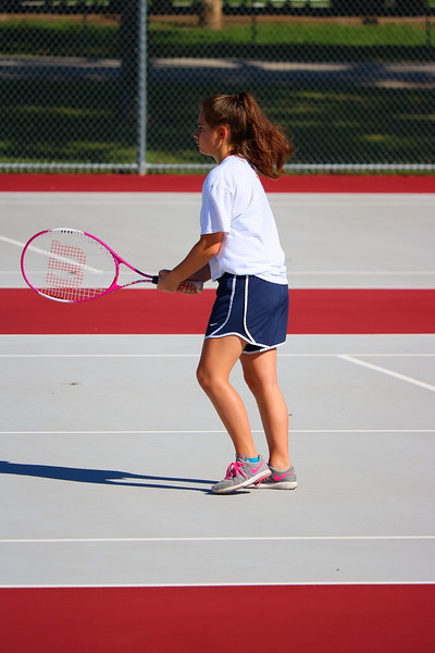 WMS 7/8 Girls Tennis 092917