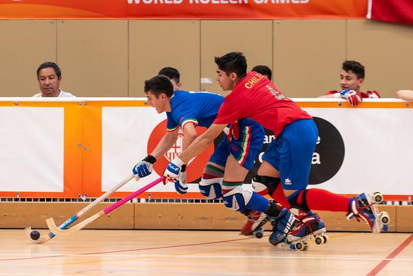 Quarterfinal: Chile vs Italia