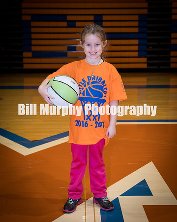 2016 - 2017 Marshall County Preschool & Kindergarten Little Dribblers.