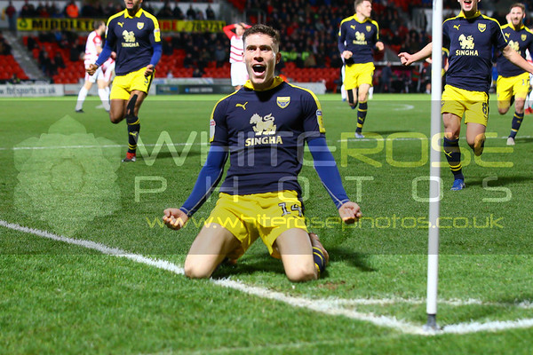 Doncaster Rovers v Oxford United  22 - 12 - 18