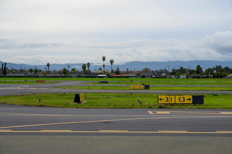 Runway 31-13 Destination Signs
