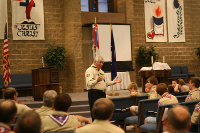 Scout Meeting with Colin Walker