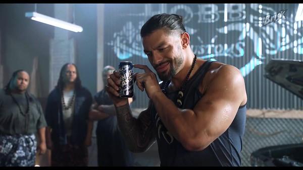 Roman Reigns - Brisk Commercial Screencaps