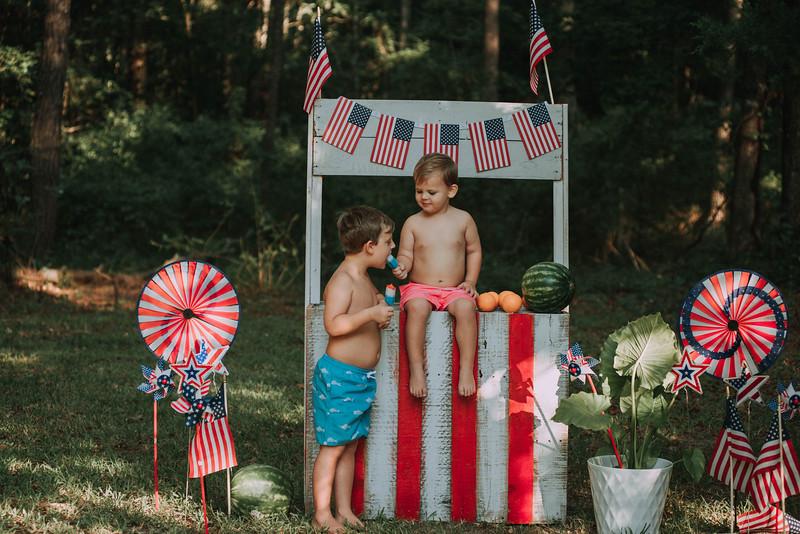 Bryce & Josie Summer minis