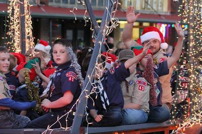Howe Christmas Parade, 12/13/2014
