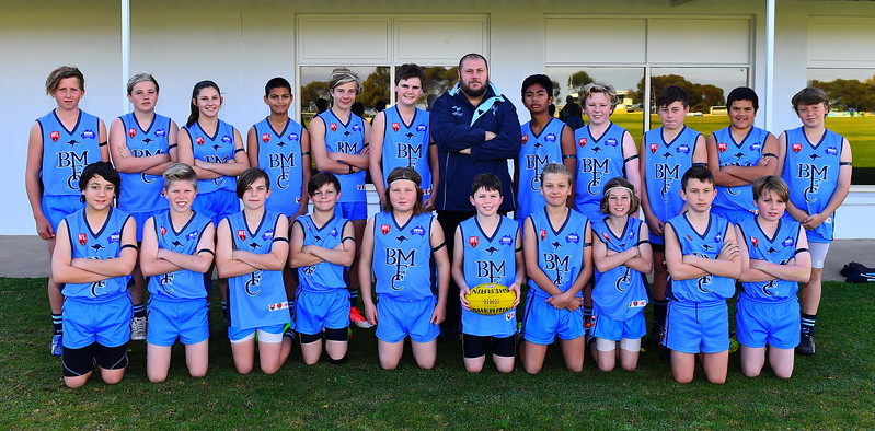 2017 U13 GRAND FINAL TEAMS BARMERA V RENMARK