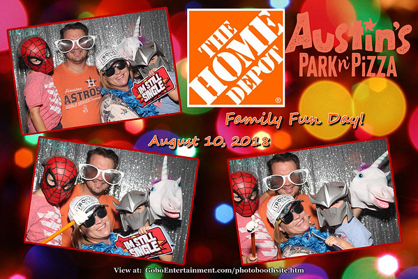 20180810 Home Depot Family Fun Day!