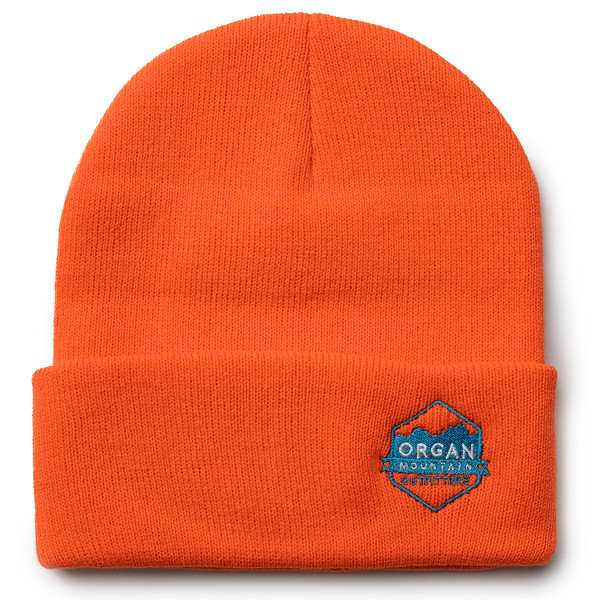 Outdoor Apparel - Organ Mountain Outfitters - Hat - 12 Inch Knit Beanie - Orange.jpg