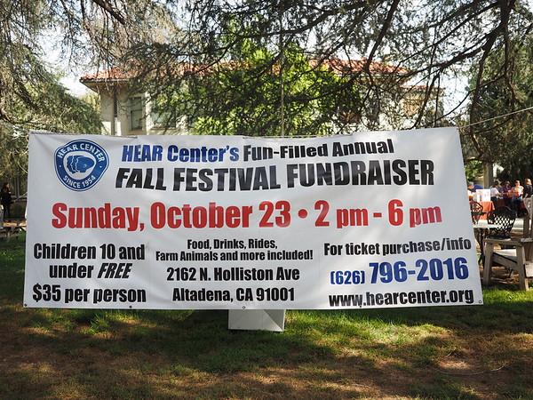 2016 HEAR Center Fall Fundraiser