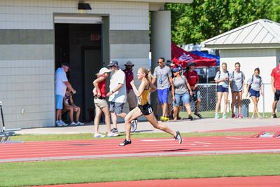 W 400m Hurdles Trials