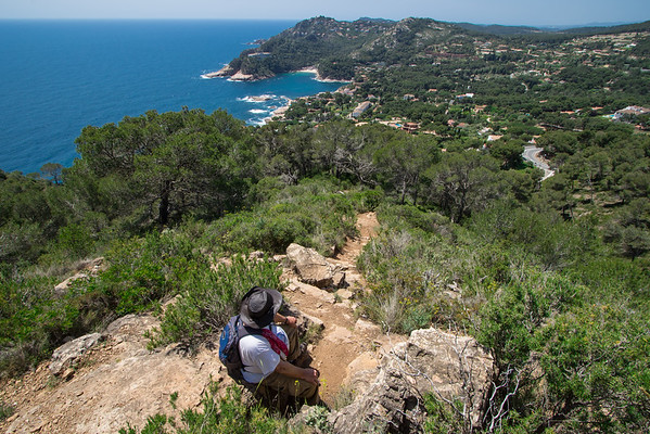 Hike from Tamariu to Begur Costa Brava