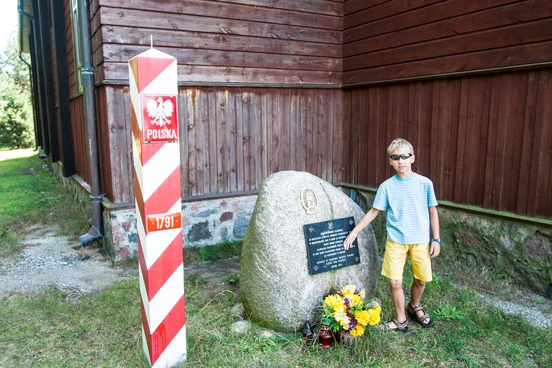 War memorial, Giby, Poland