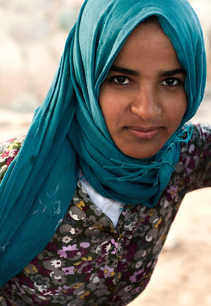 Local girl.  Dahab, Sinai peninsula, 2010.