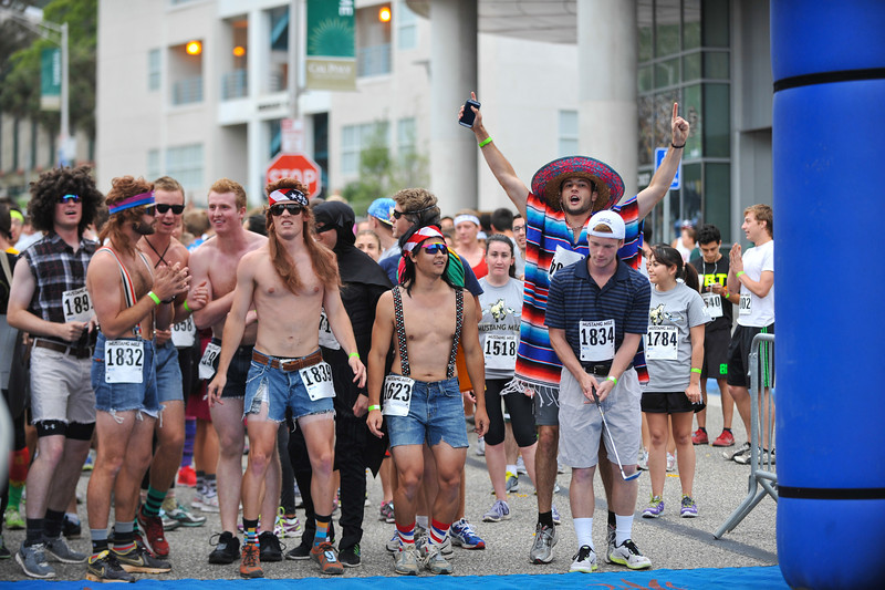 The 2014 Mustang Mile. May. 21, 2014. Photo by Ian Billings