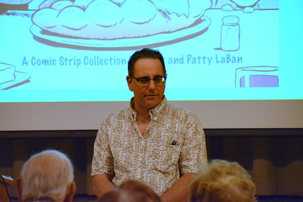 PHOTOS: Terry LaBan speaks at Rydal Park