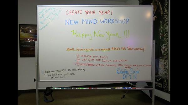 New Mind Workshop - January 2018