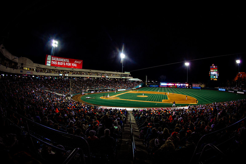 Raley Field, March 24, 2018