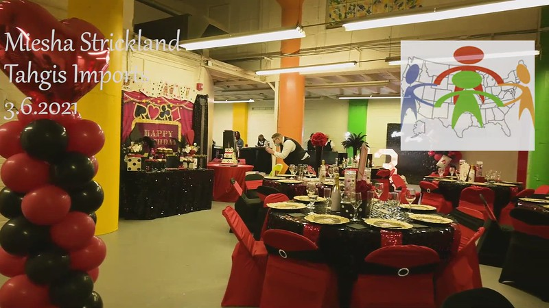 Miesha Birthday Event video