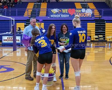 2021 CMHS Volleyball Senior Night