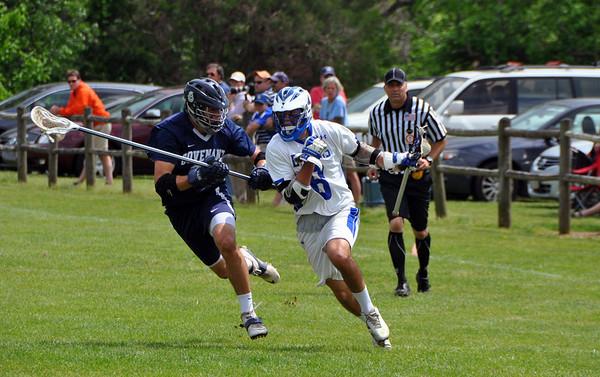 Blue Ridge vs. Covenant lacrosse 2013