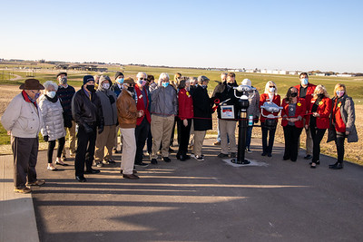 2020 Experimental Aircraft Association - Airport Observation Area View Finders Ribbon Cutting