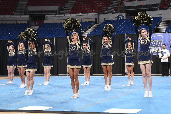 State Cheerleading Afternoon Section 1