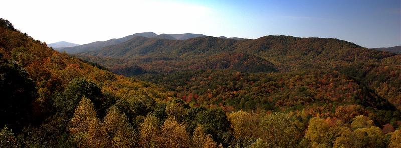 Boyd Gap Overlook II- Fall
